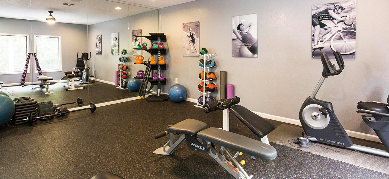 open fitness center